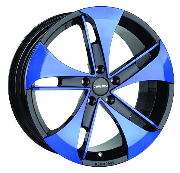 Carmani 7 blau