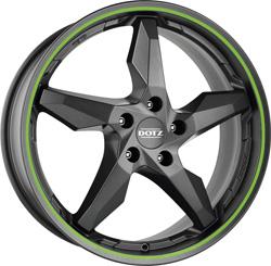 DOTZ Touge graphite side green