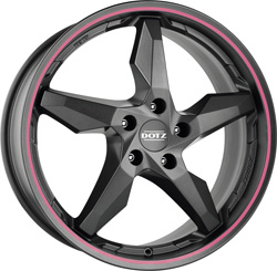 DOTZ Touge graphite side pink