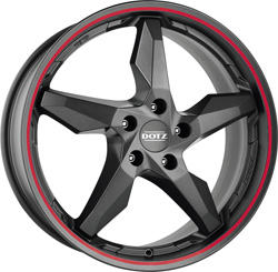DOTZ Touge graphite side red