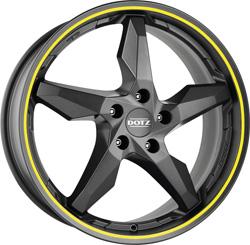 DOTZ Touge graphite side yellow